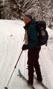2013Betsy skiing
