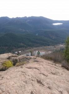 View from Rattlesnake ledge