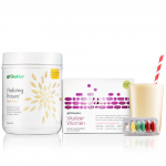 A Protein shake plus 80 nutrients in a convenient strip